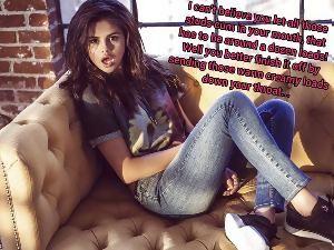 Selena gomez femdom