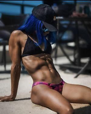 Nude banks wwe sasha Sasha Banks
