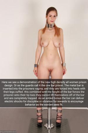Bar prison porn