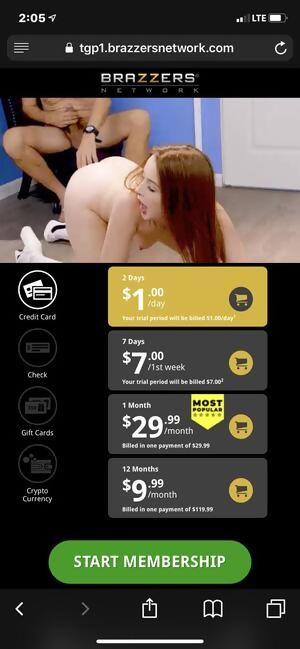 Brazzers porn ad